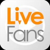 Androidアプリ「LiveFans セトリ再生と音場効果でライブの臨場感を再現」のアイコン