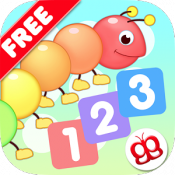Androidアプリ「みんなで数をかぞえよう 123 (無料版)」のアイコン