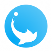 Androidアプリ「つながらないSNS ilka(いるか)」のアイコン