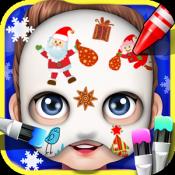 Androidアプリ「ベビーフェイスアートペイント - 子供のゲーム」のアイコン