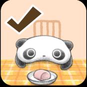 Androidアプリ「たれぱんだShopping list」のアイコン