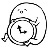 Androidアプリ「ホモォ時計」のアイコン