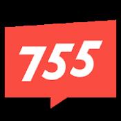 Androidアプリ「755(ナナゴーゴー)-足あと機能搭載・よりハマるSNS-」のアイコン