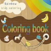 Androidアプリ「色とりどり色遊び(赤ちゃん、幼児、子供、子供)」のアイコン