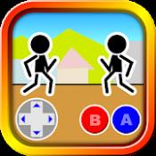 Androidアプリ「格闘ゲーム「木拳」:棒人間オンライン対戦の暇つぶしゲーム」のアイコン