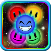 Androidアプリ「Rainbow Trail - Bubble Shoot」のアイコン