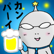 Androidアプリ「飲ンベイダー」のアイコン
