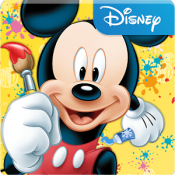 Androidアプリ「Mickey's Color and Play!」のアイコン