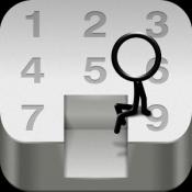Androidアプリ「見ずに遊ぶ!無限すっぽり」のアイコン