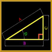 Androidアプリ「三角関数とピタゴラス」のアイコン