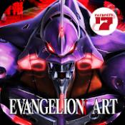 Androidアプリ「EVANGELION ART」のアイコン