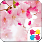 Androidアプリ「桜壁紙 SAKURA shower」のアイコン