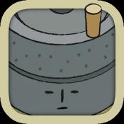 Androidアプリ「石臼回せます -レシピ育成の無料ゲーム。人気の癒し料理を体験」のアイコン