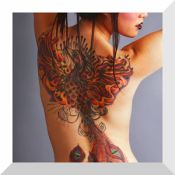 Androidアプリ「タトゥーデザイン - Tattoo Designs」のアイコン