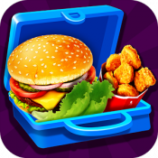 Androidアプリ「Lunch Box Maker : School Food!」のアイコン