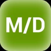Androidアプリ「開始終了日経過日数計算」のアイコン
