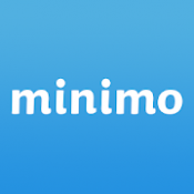 Androidアプリ「minimo(ミニモ)24時間お得にサロン予約!ヘアやネイル、まつエク、エステも見つかる!」のアイコン