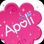 Androidアプリ「Apoli〜女子会応援アプリ〜」のアイコン