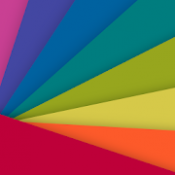 Androidアプリ「慣用色名を覚えよう!~色彩検定対策~」のアイコン