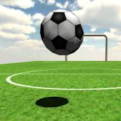 Androidアプリ「サッカー シュートの達人 - フリーキックでゴールを決めろ」のアイコン