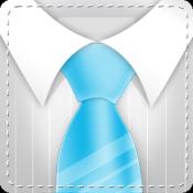 Androidアプリ「ネクタイを結ぶ - セクシーになる方法」のアイコン