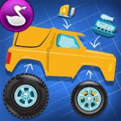 Androidアプリ「Build A Truck -Duck Duck Moose」のアイコン