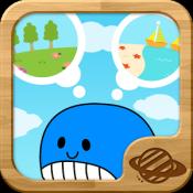 Androidアプリ「簡単スイスイどうぶつパズル!幼児・子供向け知育アプリ(無料)」のアイコン