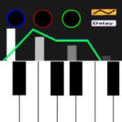 Androidアプリ「アナログシンセサイザーFree:キーボードピアノ楽器」のアイコン