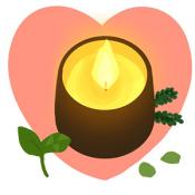 Androidアプリ「女子占い 十香の書 恋愛ナビ」のアイコン