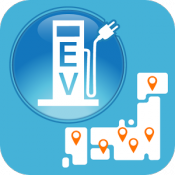 Androidアプリ「EVSS MAP 充電器共通マップ」のアイコン