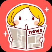 Androidアプリ「女子が気になる話題トピックアプリ - GirlsStyle」のアイコン