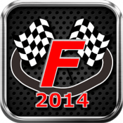 Androidアプリ「F2014 - Live Timing Races 2014」のアイコン
