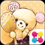 Androidアプリ「ガーリーベア for[+]HOMEきせかえテーマ」のアイコン