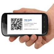 Androidアプリ「QR スマート名刺」のアイコン