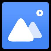 Androidアプリ「FlickMomentギャラリー」のアイコン