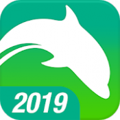 Androidアプリ「Dolphin Browser - Fast, Private & Adblock🐬」のアイコン