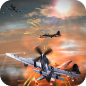 Androidアプリ「WWII Air Combat Live Wallpaper」のアイコン
