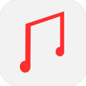 Androidアプリ「iphone music player」のアイコン