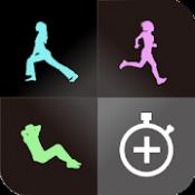 Androidアプリ「インターバルタイマー+ HIITトレーニング&レコード」のアイコン