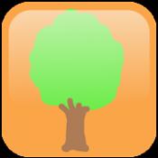 Androidアプリ「シンプル植物リスト〜樹木編〜」のアイコン