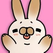 Androidアプリ「こちょうさ〜かわいいウサギアプリ〜」のアイコン