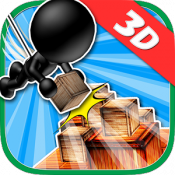Androidアプリ「ブロックタワー3D -Mision Impossible2-」のアイコン