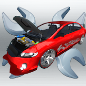 Androidアプリ「車を修理する: オートモッズと詳細」のアイコン