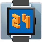 Androidアプリ「Pixel Art Clock」のアイコン