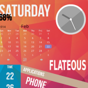Androidアプリ「Flateous Theme ssLauncher OR」のアイコン