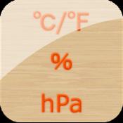 Androidアプリ「温湿気圧計(温度、湿度、気圧計)」のアイコン
