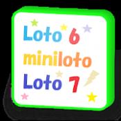 Androidアプリ「ロト6・ミニロト・ロト7・ビンゴ5、よく出た数字と組み合わせ」のアイコン