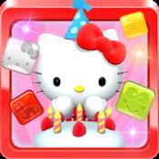 Androidアプリ「Hello Kitty ジュエルタウン!」のアイコン