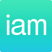 Androidアプリ「連絡先をまとめて交換!連絡帳アプリ-iam-」のアイコン