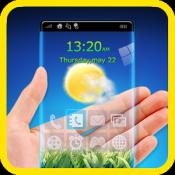 Androidアプリ「透明なスクリーンランチャーHD」のアイコン